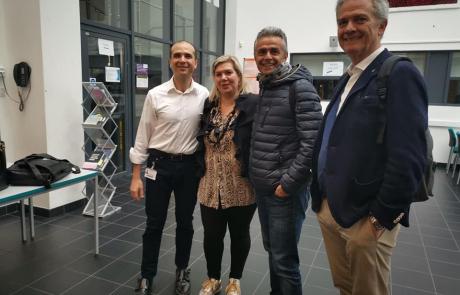 Congresso monotematico inglese su Vibra 3.0 e Vibra GO presso Dipartimento di Fisioterapia - Università di Birmingham