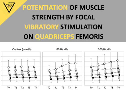 Potentiation of muscle strength by focal vibratory stimulation on quadriceps femoris